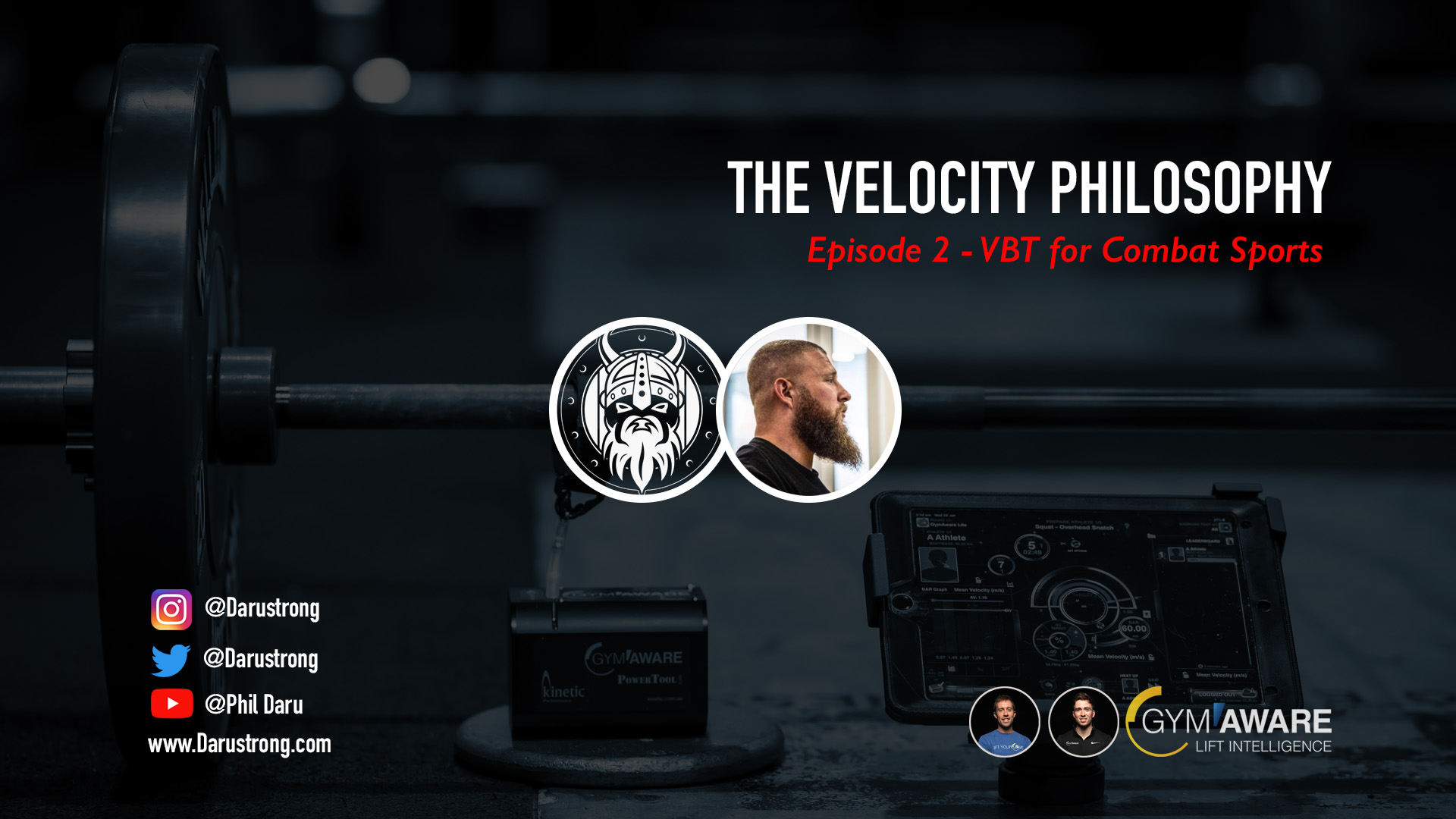 Phil Daru Velocity Based Training for combat sports