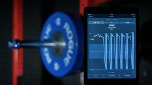 Velocity based training device